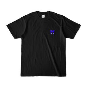 勇気ちひろ オリジナルTシャツ - ブラック