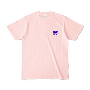 勇気ちひろ オリジナルTシャツ - ライトピンク