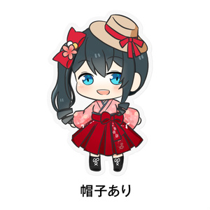 小野町春香 オリジナルステッカー(5万人衣装)