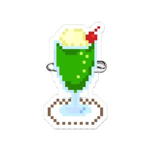 【クリームソーダ】シスター・クレア オリジナルアクリルバッジ