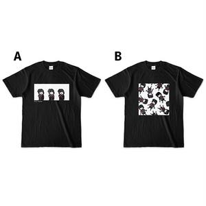 雨森小夜 オリジナルTシャツ(黒)