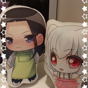 エルーリア物語シリーズ★ミニクッション