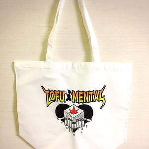 豆腐小僧の豆腐メンタルトートバッグ