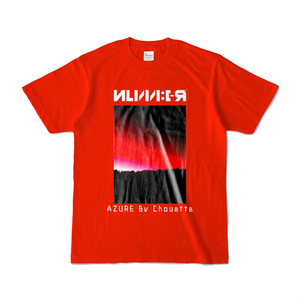 NUMBER_Tシャツ_赤