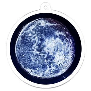 "Moon's Age 16.7 ""立待月""アクリルキーホルダー"