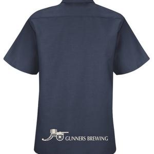 HIGHBURYワークシャツ(ネイビー)
