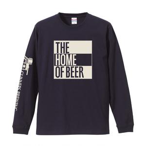 HIGHBURYロングTシャツ(ボディ:ネイビー ロゴ:ホワイト)