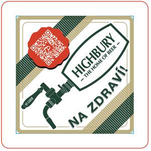 LUKR x HIGHBURYコラボ オリジナル珪藻土コースター