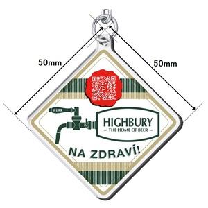 LUKR x HIGHBURYコラボ アクリルキーホルダー