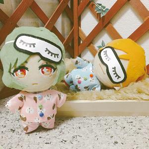 ぬい 服 パジャマ(アイマスク付)