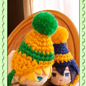 もちマス 冬の帽子