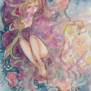 【創作フルカラーイラスト集】「ねむねむ」