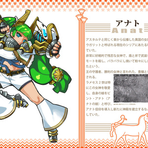 ICONE4-古代エジプト神解説本(戦いの神々編)