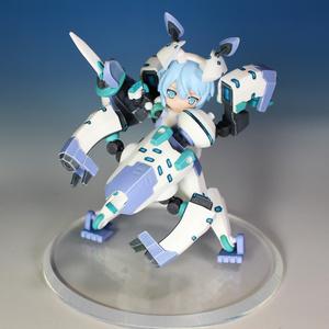 DTAシルフィー用 白虎型自律武装「ツキシロ」
