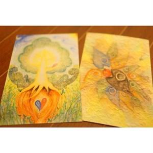 ◆オリジナルポストカード◆いのちめぐる