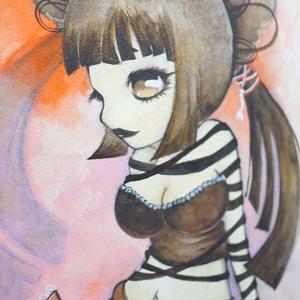 水彩手描き原画◆ティラーヌ