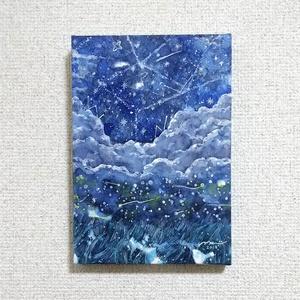 原画「初夏の星」