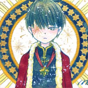 ATC原画「王子、星に想う」