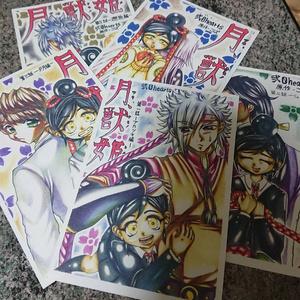 月獣姫ポストカード10枚セット