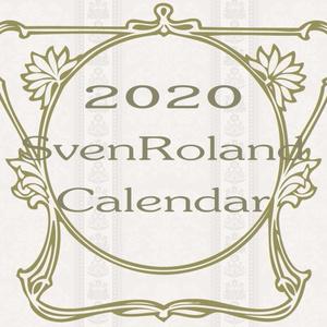 2020 Svenroland壁掛けカレンダー