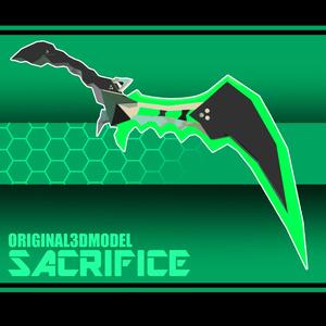 【VRC想定】SACRIFICE【オリジナル武器モデル】