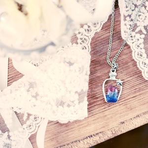 夢100/妖精石ネックレス(香水瓶silver)