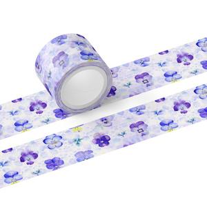 パンジーのマスキングテープ(テープ幅 30mm)