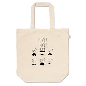NO!NO!six shame facesトート 黒