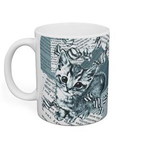 「Candy Cat」マグカップ