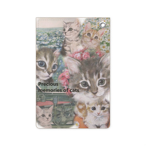 「Precious memories of cats」パスケース