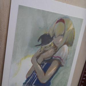 東方二次創作絵画 「アリス」