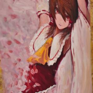 楽園の素敵な巫女「春」