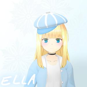 オリジナル3Dモデル (ELLA)