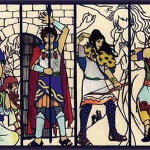 トロイア戦争ポストカード3 トロイア王家
