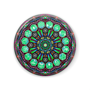 INGRESS Magic Circle Mirror