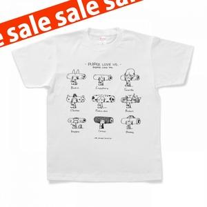 【在庫処分セール】9キャラクターずTシャツ