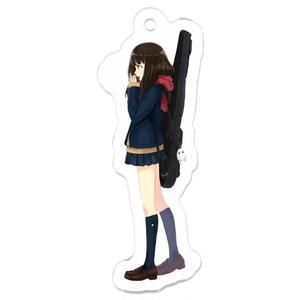 女子高生×ギグバッグ アクリルキーホルダー