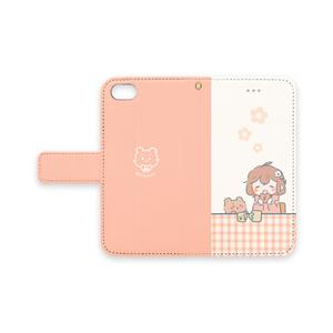 ★手帳型iPhoneケース~女の子2~