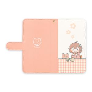 ★手帳型Androidケース~女の子2~