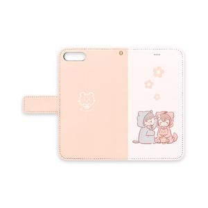 ★手帳型iPhoneケース~ふたり~