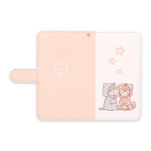★手帳型Androidケース~ふたり~