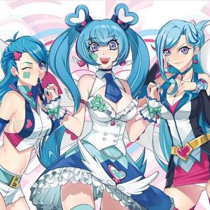 【プレイマット】ブルー姉妹(Angel,Girl,Maiden)