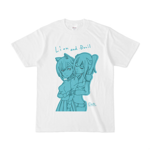 ライオンちゃんとツノ子さんTシャツ