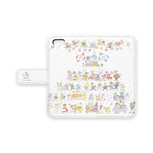 [ちびねこベビーパレードA]iPhone case