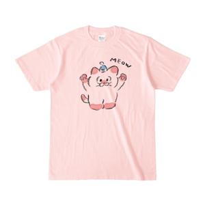 [もか]Peach T-shirt