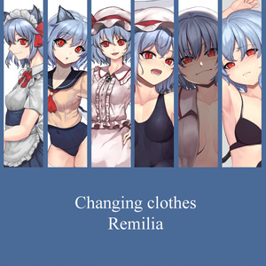Changing clothes Remilia