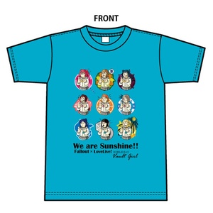 LoveLive!×Fallout~We are Sunshine! Tシャツ