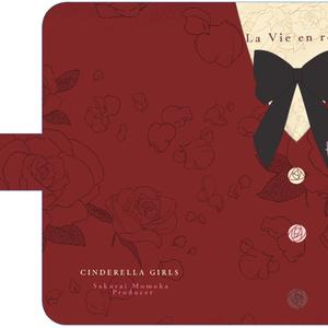 ~La Vie en rose~ オリジナル手帳型iphoneケース