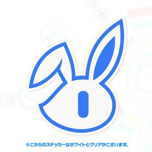 【クラフィ公式】Usagi-chan ステッカー