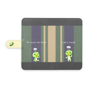 かっぱーず手帳型ケース【Android】